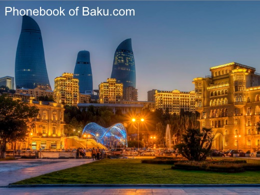 Pictures of Baku