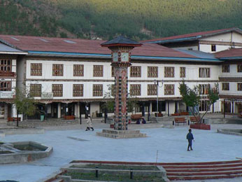 Thimphu, capital and largest city of Bhutan (99,000 people)