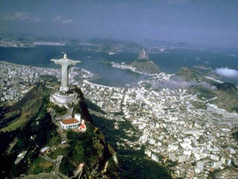 Discover Rio, 2nd largest city and former captial of Brazil (6,136,000 people)
