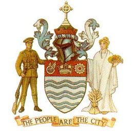 website of the city administration of Barrie
