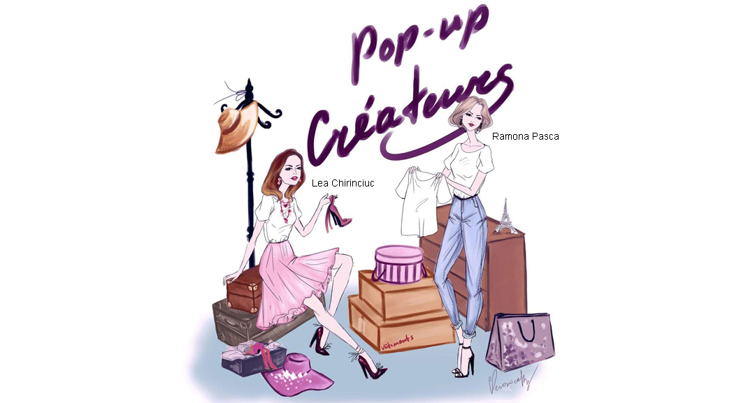 Pop Up Createurs fashion event at Cremerie de Paris