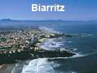 Pictures of Biarritz (air View with the Pyrenees in the Background)