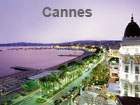 Pictures of Cannes (view over the Croisette from the Hotel Carlton)