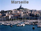 Pictures of Marseille (view on Notre Dame de la Garde taken from the old Port de Marseille)