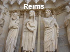 Pictures of Reims (Sculptures on the Entrance of the Cathedral)