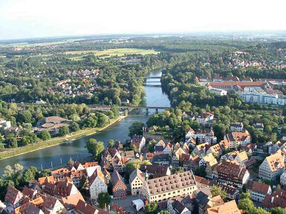 View on Ulm