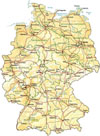 clickable map of Germany