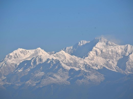 Kanchenjunga, highest point of India