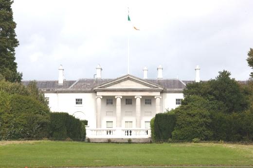 Seat of the Ireland President