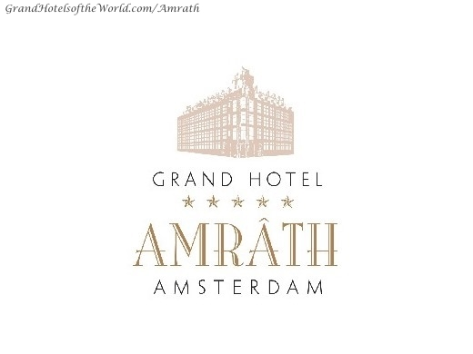 Logo Of The Hotel Amrath By Grand Hotels Of The World