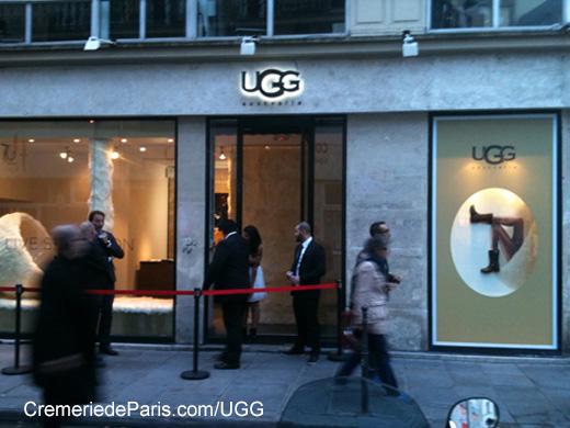 uggs shop paris
