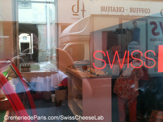 Swiss Cheese Lab Pop Up Store à la Cremerie de Paris in 2014
