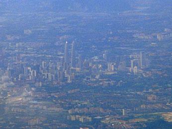 View on Kuala Lumpur