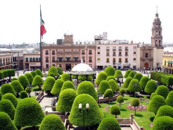 Leon Mexico  city photo : Plaza Principal Leon, Mexico