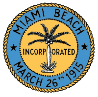 Seal of the Major of Miami Beach