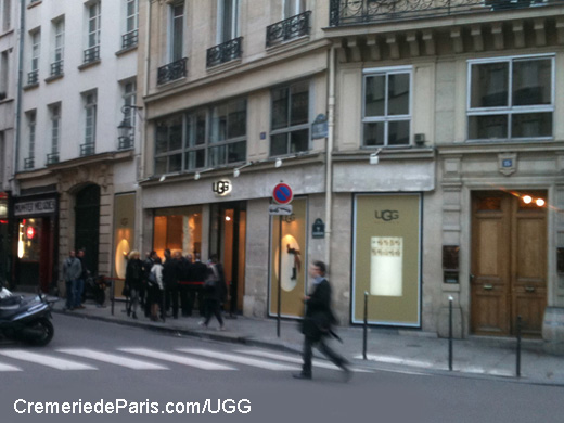 UGG Pop Up Store at Cremerie de Paris