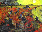 the Red Vineyard, history of Russia's most valuable painting