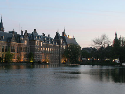 Pictures of The Hague (Dutch Parlament Buidling)