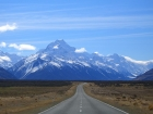 Mount Cook, highest point of New Zealand