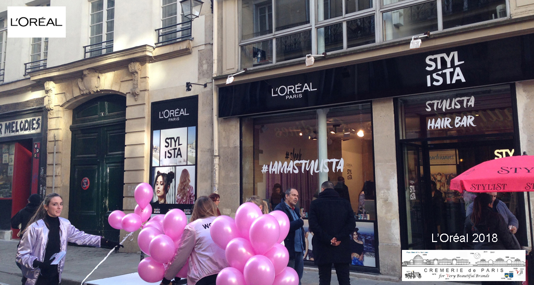 L Oreal Pop Up Store at the Phone Book of the World
