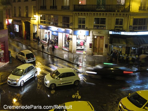 Renault Pop Up Store at Cremerie de Paris, home of the Phone Book of the World and iconic Telecom Hotspot since 1671.