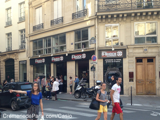 Casio Pop Up Store at Cremerie de Paris
