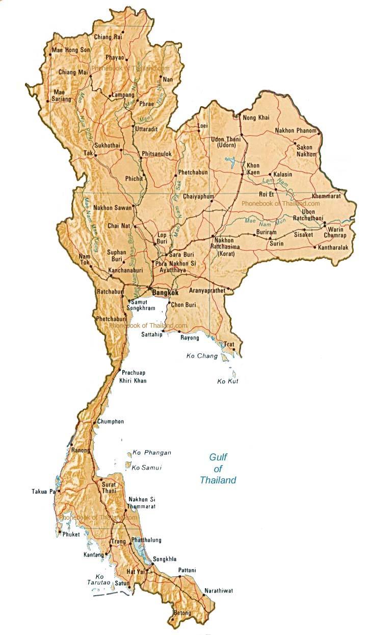Самуи на карте тайланда на русском