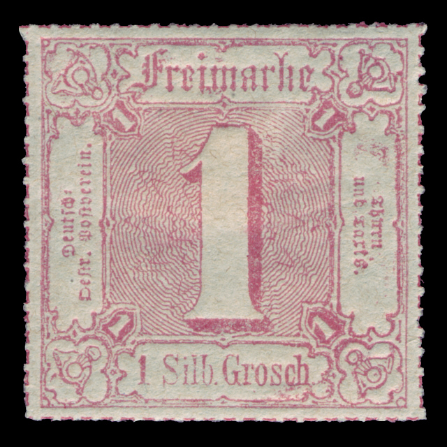 Thurn & Taxis stamp 1 Groschen