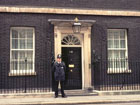 10 Downing Street, home of the British Prime Minister