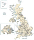 clickable map of the UK