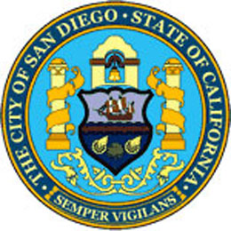 Website of the City of San Diego