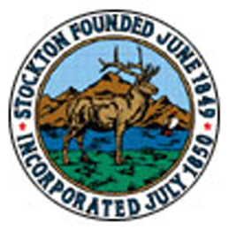 website of the city administration of Stockton