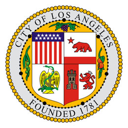 Website of the City Administration of Los Angeles - Mairie de Los Angeles