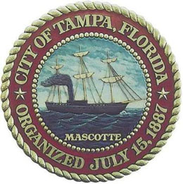 Website of the city and Major of Tampa