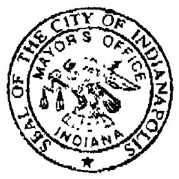 Website of the Major of Indianapolis
