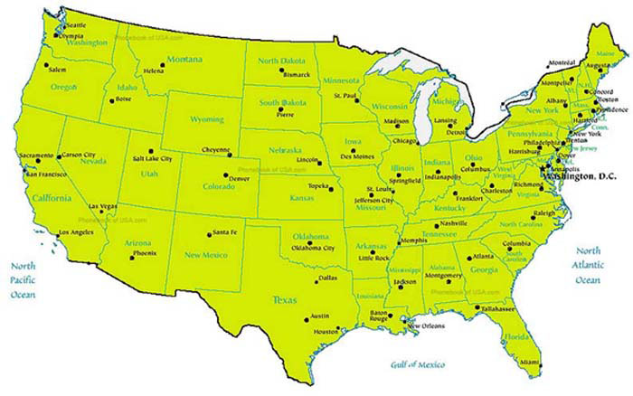 Simple Us Phone Number Area Code Map when the direct dial system