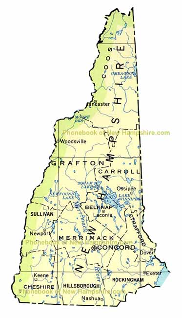 New Hampshire Capital Map Swimnovacom - New hampshire in us map