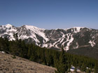Wheeler Peak, highest mountain of New Mexico