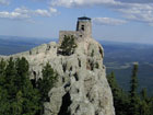 Harney Peak, highest mountain of South Dakota