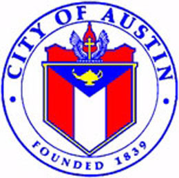Website of the City of Austin