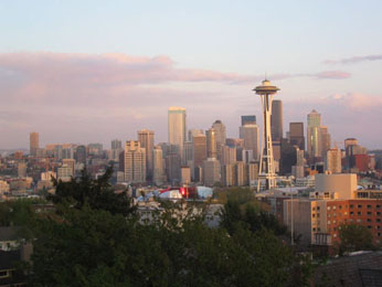 Seattle, largest City of the State of Washington and home of Whitepages.com (population 578,700)