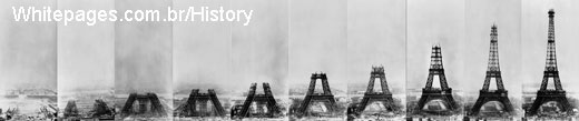 construction of the Eiffel Tower 1887 to 1889